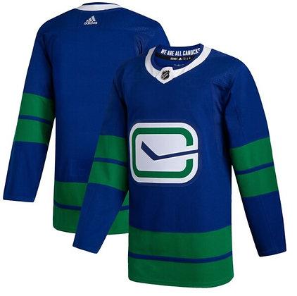 Men's Vancouver Canucks Adidas Blank Pro Heritage Jersey
