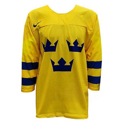 Men's Team Sweden 2019 IIHF World Junior Championship Replica Yellow Jersey
