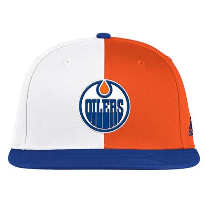 Men's Edmonton Oilers Adidas 2020/21 Reverse Retro Snapback Adjustable Hat