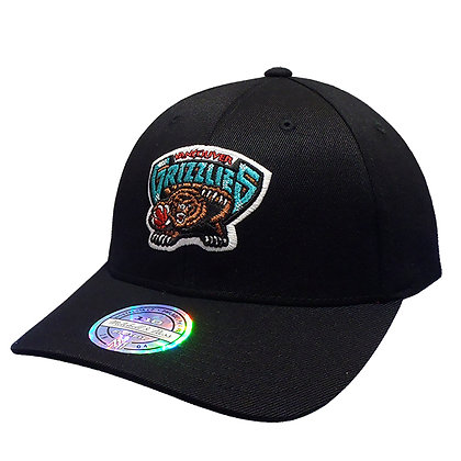 Vancouver Grizzlies Mitchell and Ness Wool Solid 110 FlexFit Hat