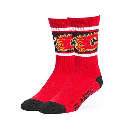 Adult Calgary Flames '47 Brand Duster Sport Socks