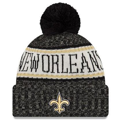 Men's New Orleans Saints New Era 2018 Sideline Official Sport Knit hat