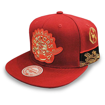 Men's Toronto Raptors Mitchell and Ness Chinese New Year Edition Snapback