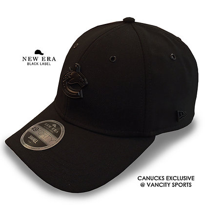 Vancouver Canucks New Era Black Label 49FORTY Fitted Hat