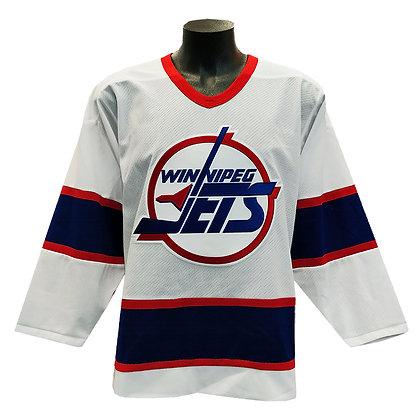 Men's Winnipeg Jets CCM Original Heritage White Replica Jersey