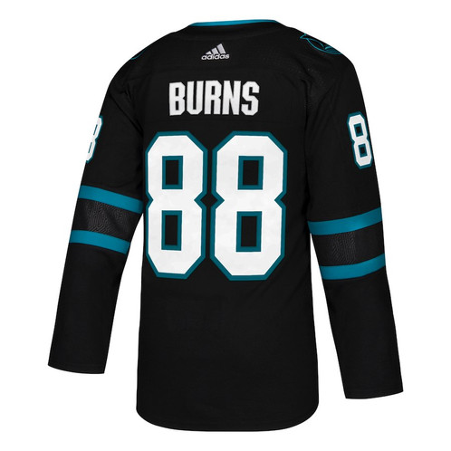 new products 2b886 0b704 The San Jose Sharks Brent Burns adidas adizero NHL Authentic Pro Alternate  Jersey is a reproduction of the jersey worn on-ice by all NHL players for  all NHL ...