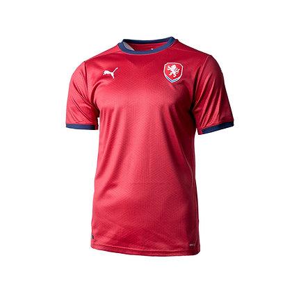 Men's Czech Republic National Soccer Home Puma Jersey