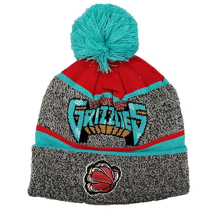 Vancouver Grizzlies Mitchell and Ness Toque / Beanie with Pom