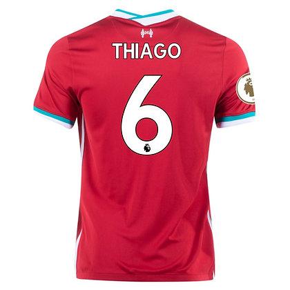 Men's Liverpool Thiago Home Nike jersey 2020/21