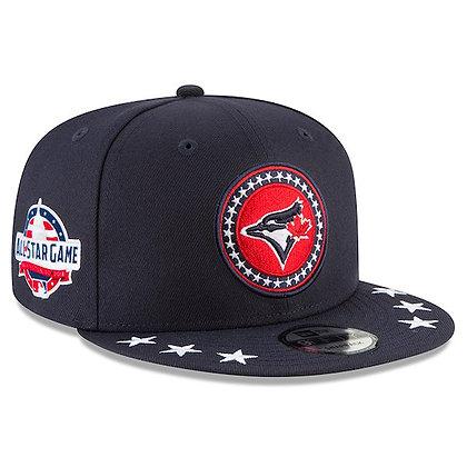 Men's Toronto Blue Jays New Era 2018 All-Star Workout Navy 9FIFTY Snapback Hat