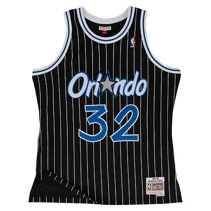Men's Orlando Magic Shaquille O'Neal Mitchell&Ness Black 94-95 HWC Swingman