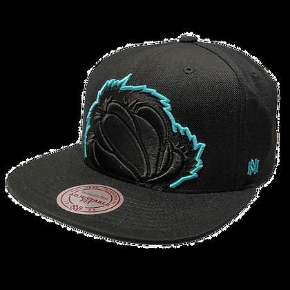 Men's Vancouver Grizzlies Team Logo Adjustable Fit Hat