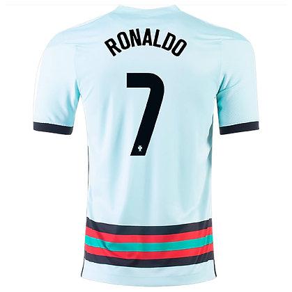 Men's Portugal CRISTIANO RONALDO Stadium Away Nike Euro 2020 Jersey