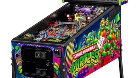 Teenage Mutant Ninja Turtles Pinball Machine Pro