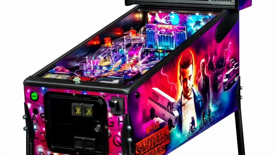 Stranger Things Pinball Machine Pro