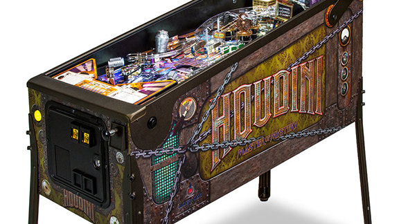 Houdini: Master of Mystery Pinball Machine