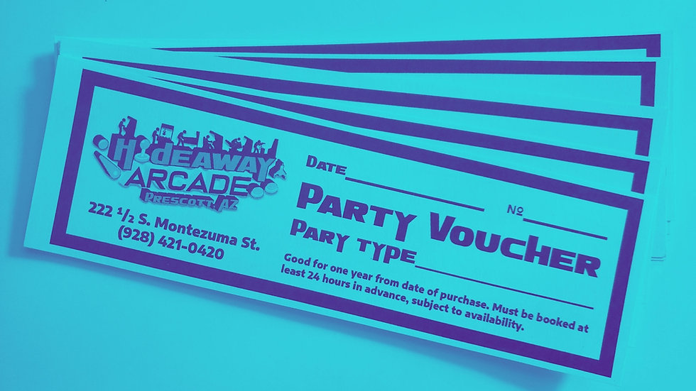 Party Reservation Voucher (Lounge)