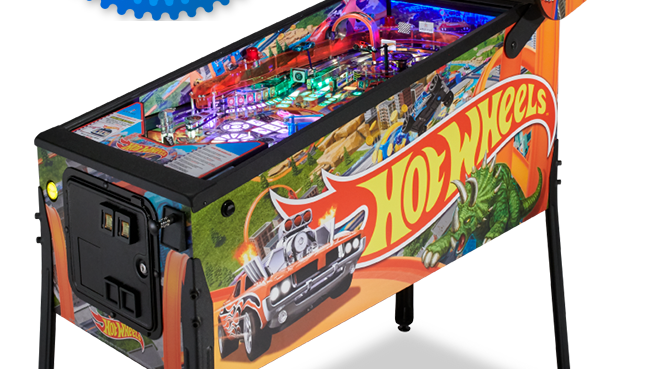 HOT WHEELS™ Pinball Machine