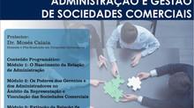 Administração e gestão de sociedades comerciais