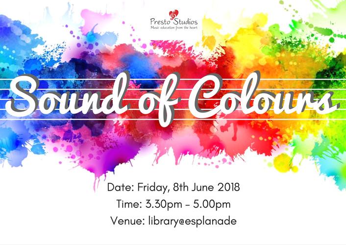 Sound of Colours recital, June 2018