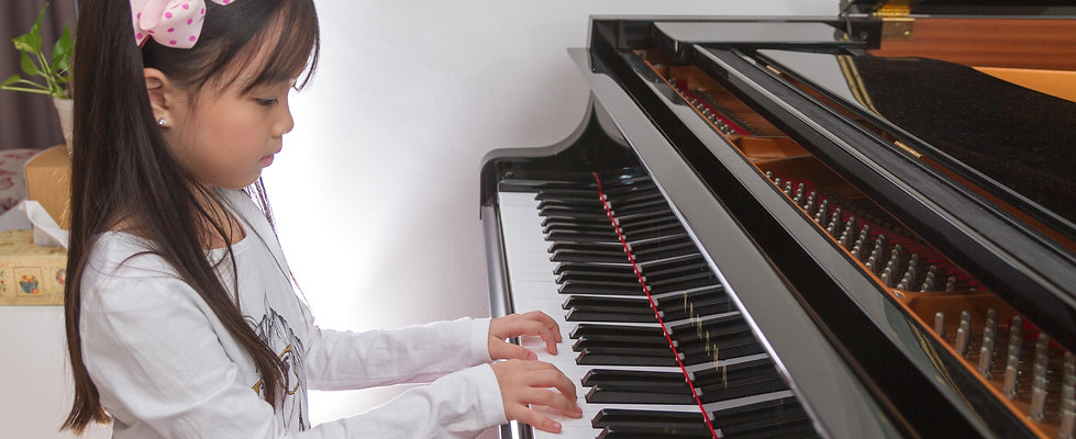 Beginner piano lesson