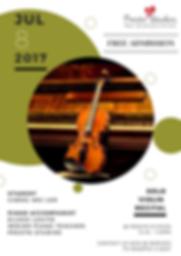 Violin Solo Recital