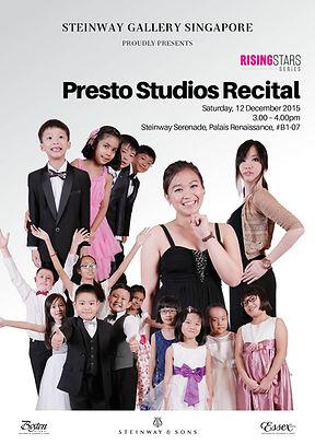 Steinway Gallery & Presto studios