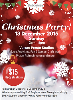 Presto Christmas Party
