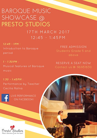 Baroque Music Showcase