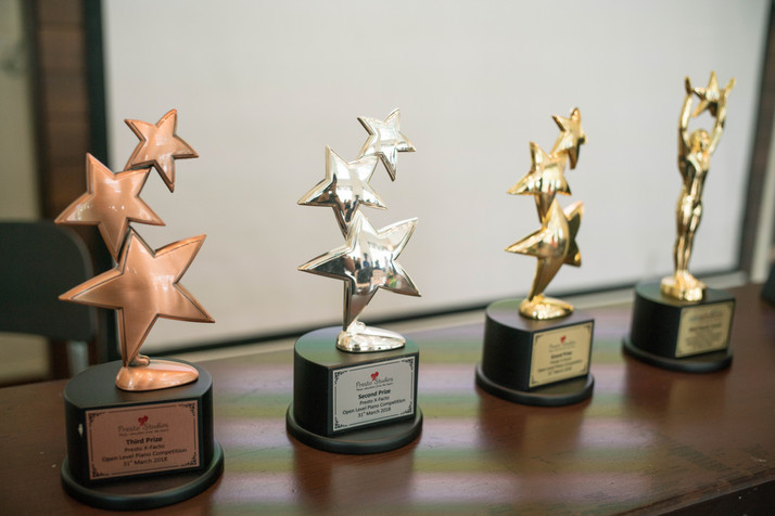 Trophies For PrestoXfacto