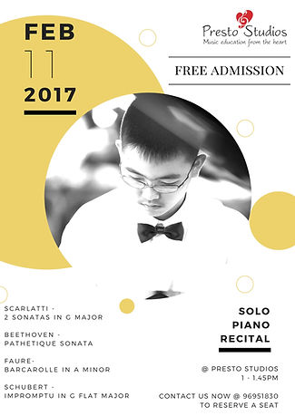 Piano Diploma Performance Recital