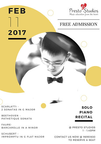 Diploma Performance Solo Recital