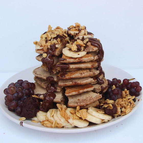 Banana Tigernut Pancakes