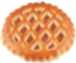 abrikozenkoek apricot round