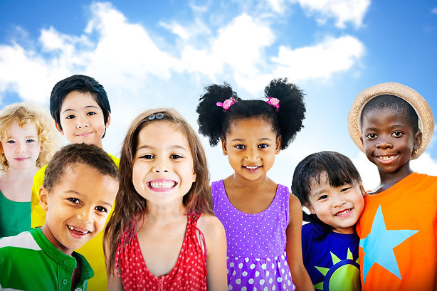 Diversity Children Friendship Innocence