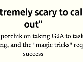 "GamesIndustry.biz feature: ""indie games are like magic tricks"""