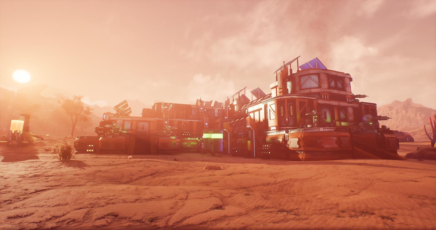 Альфа тест нового Sci-Fi шутера Outpost Zero.