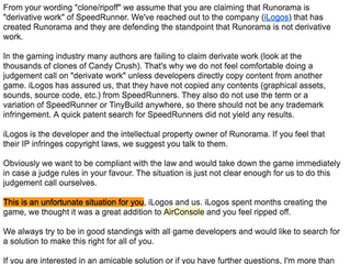 Airconsole ripped off SpeedRunners, blames the contractor they hired to do so