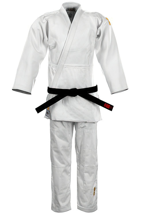 Gold IJF Approved White Junior Suit 2021