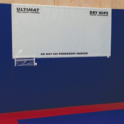 Training Room Padded Whiteboard