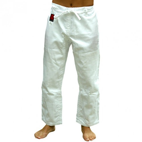 White Ippon Adult Trousers