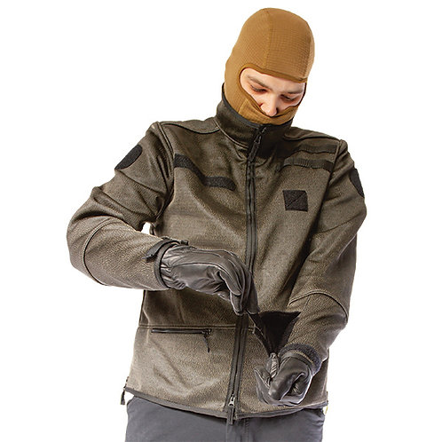 Slash-Cut Jacket