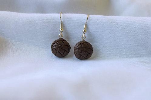 Concha De Chocolate Earrings