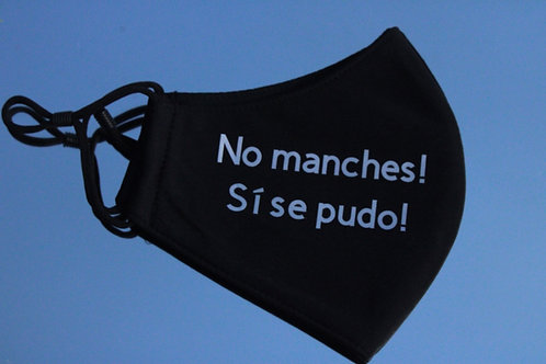 No Manches Blue Mask