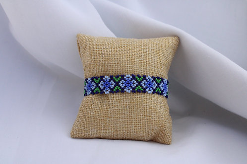 Flor Azul Bracelet