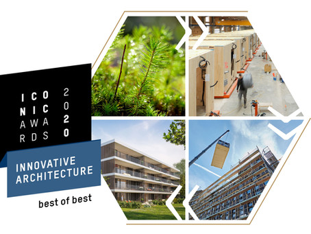purelivin gewinnt ICONIC AWARD 2020: Innovative Architecture - Best of Best