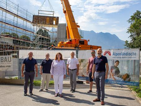 Zukunftsweisendes Wohnbauprojekt in Schruns