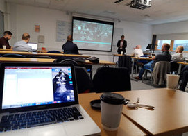 ICS.AI visit UEL to discuss student well-being and what we can do to improve it with AI assistance