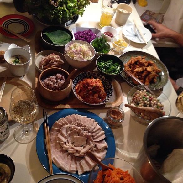 年末年始の食事会