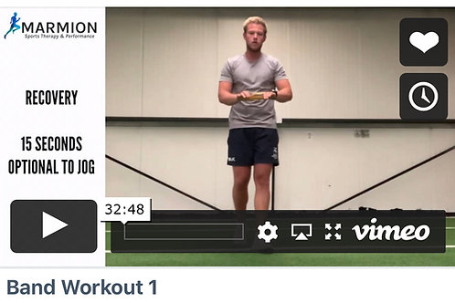 4 Part Banded Video Workouts